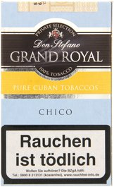 Don Stefano Grand Royal Chico 100% Cuban Tobacco