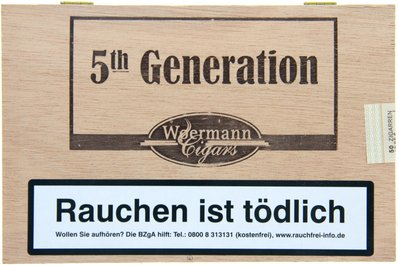 Woermann Cigars 5th Generation Corona Brasil