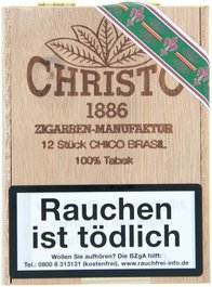 Christo 1886 Zigarrenmanufaktur Cigarillos Chico Brasil (12er)