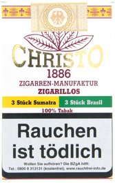Christo 1886 Zigarrenmanufaktur Cigarillos Zigarillo Sumatra & Brasil Mix (6er)