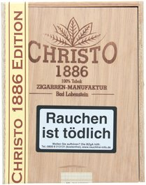 Christo 1886 Zigarrenmanufaktur Cigarillos Edition 2010 - Zigarrensortiment (12er)