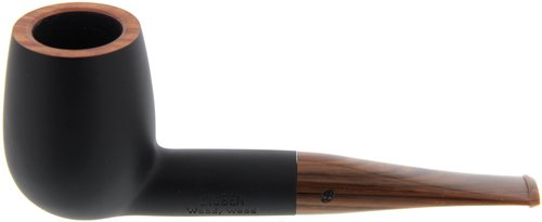 Big Ben Woody Wood Black matte Modell 108
