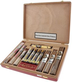 Royal Danish Cigars Sampler Historic Collection offen