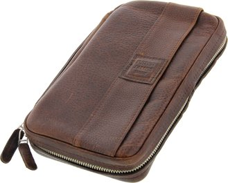 Peter James Etui Leder braun