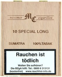Messmer MC Special Sumatra (Long Cigarillos)