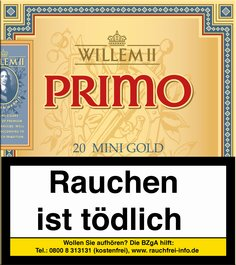 Willem II Primo Primo Gold Mini Sumatra 20er