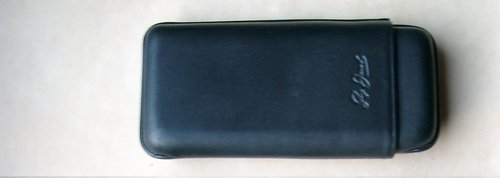 Guy Janot Cigarrenetui Domingo Schwarz 3er Robusto-Etui Schwarz 8056