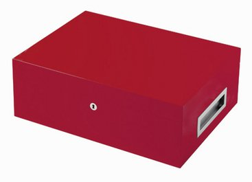 Villa Spa Humidor Red