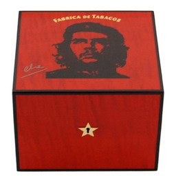 Elie Bleu Che Robusto Humidor Che Robusto Humidor Sycamore 25 Cigarren Rot
