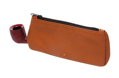 Alfred Dunhill The White Spot Terracotta Pfeifen Etui 1 Pipe Combination Pouch (