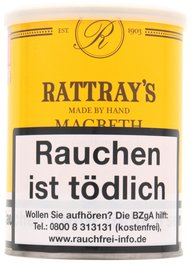 Rattray's British Line Pfeifentabak Macbeth 100g Dose