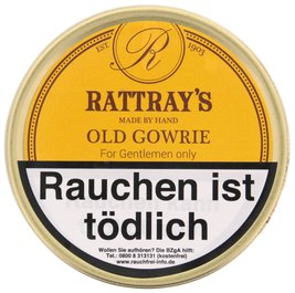 Rattray's British Line Pfeifentabak Old Gowrie 50g Dose.