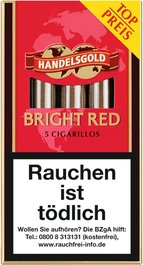 Handelsgold Zigarillos BRIGHT RED (Sweet Strawberry) No. 203