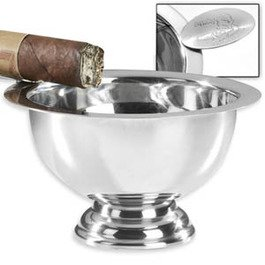 Tuttofumo Stinky Ashtray Personal Size - Edelstahl mit 1 Ablage (CA-ST-1)
