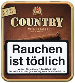 Neos Cigarillos Country Wilde Cigarillos 20er