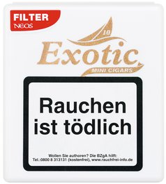 Neos Cigarillos Exotic Filter & Flavour 10er