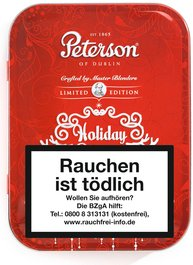 Peterson Limited Editions Holiday Season 2016 100g Schmuckdose