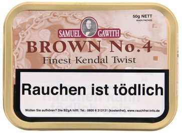 Samuel Gawith Brown No. 4 50g