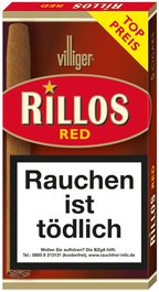 Villiger Rillos Red (ehemals Sweets) 5er
