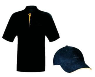 Cohiba Polo-Shirt PLUS Cap Set L