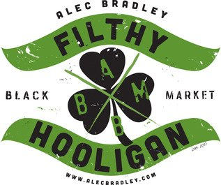 Alec Bradley Black Market Filthy Hooligan Logo