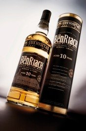 BenRiach Curiositas Peated Malt - 0,7 Liter