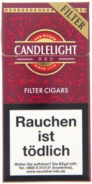 Candlelight Aromatic Cigarillo Red Filter (ehemals Cherry)