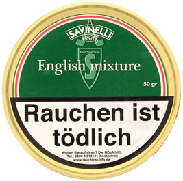 Savinelli 1876 English Mixture 50g Dose