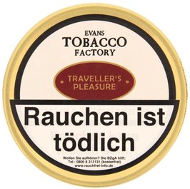 Tobacco Factory Danish Blend Traveller´s Pleasure 100g (74551)