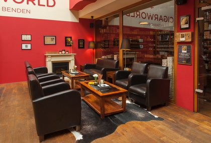 Bild  der Cigarworld Lounge